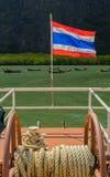 Thai nation flag Stock Image