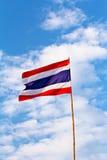 Thai nation flag Stock Photos