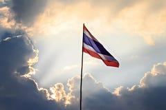 Thai nation flag Royalty Free Stock Photos