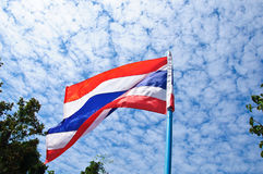 Thai national flag Royalty Free Stock Photos
