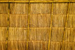 Thai native traditional house roof Stock Photography