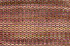 Thai native weave mat Stock Photography