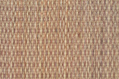 Thai native weave mat Royalty Free Stock Photography