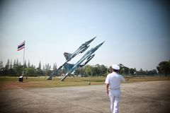 Thai Navy. For country be sacrificed this life royalty free stock images