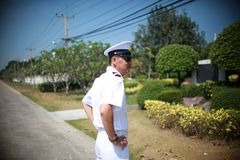 Thai Navy. For country be sacrificed this life stock image