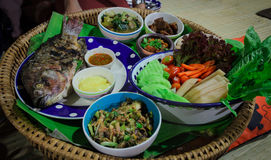 thai nerthern food Royalty Free Stock Images