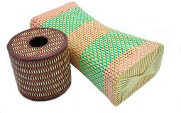 Thai nice handicraft Wicker Royalty Free Stock Photography