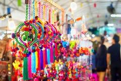 Thai night market goods Stock Images
