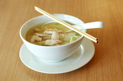 Thai noodle on table Royalty Free Stock Images