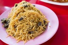 Thai noodle fried Stock Photos