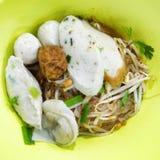 Thai noodle. Noodle popular delicious Thai style Stock Images