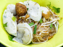 Thai noodle. Noodle popular delicious Thai style Royalty Free Stock Photos