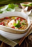 Thai noodle soup Royalty Free Stock Photography