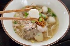 Thai noodle soup Stock Image
