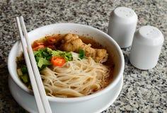 Thai noodle soup Royalty Free Stock Image