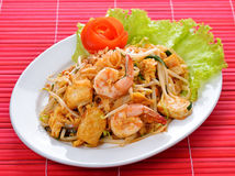 Thai noodle style royalty free stock photography