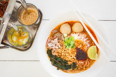 Thai noodle Royalty Free Stock Photo