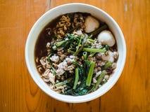 Thai noodles stock image