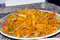 Free Thai Noodles With Curry Sauce Stock Photos - 31808963