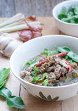 Thai Northeast food,Braised beef Spicy Soup Royalty Free Stock Photos