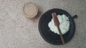 Thai Northeast rice keeping after cook Royalty Free Stock Image