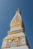 Thai northeast style Pagoda. Phra-That-Phanom, Nakornphanom, Thailand Stock Photos