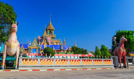 Thai northeast style pagoda, Phrathat Rueng Rong t Stock Images