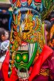 Thai northeastern traditional Phi Ta Khon ghost Festival parade Stock Image