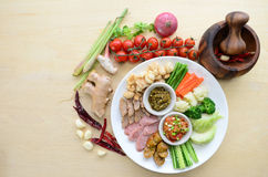 Thai northern appetizer Royalty Free Stock Photography