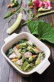 Thai Northern food Kaeng Khae with pork Stock Images