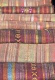 Thai traditional fabric. Royalty Free Stock Photos