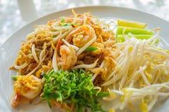thai nudelstil Arkivbild