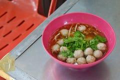 thai nudelstil royaltyfri foto