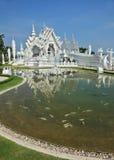thai ny stil för arkitektur Arkivfoton