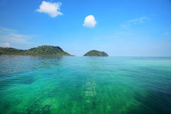 Thai ocean with clear water Royalty Free Stock Image