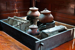 Thai old kitchen style Stock Images
