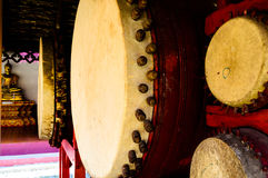Thai old style drum Royalty Free Stock Image