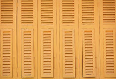 Thai old style wood windows Royalty Free Stock Image