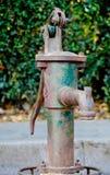 Thai old water pump. Stock Photos