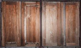 Thai old wooden window Stock Photo