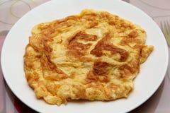 Thai omelette Stock Image