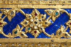 Thai ornament texture Stock Photos