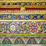 Thai ornaments Stock Images