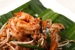Pad thai. Thai pad food noodles stir lemon padthai Royalty Free Stock Images