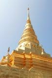 Thai Pagoda. North of Thailand Royalty Free Stock Photos