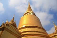 Thai pagoda Royalty Free Stock Image