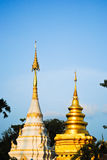 thai pagoda Royaltyfria Bilder