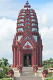 Thai pagoda Stock Photography