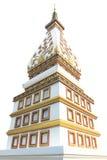 thai pagoda Royaltyfri Fotografi