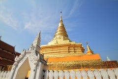 thai pagoda Royaltyfri Bild